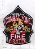 Iraq - Baghdad Combat Zone Fire Fighter Patch v2