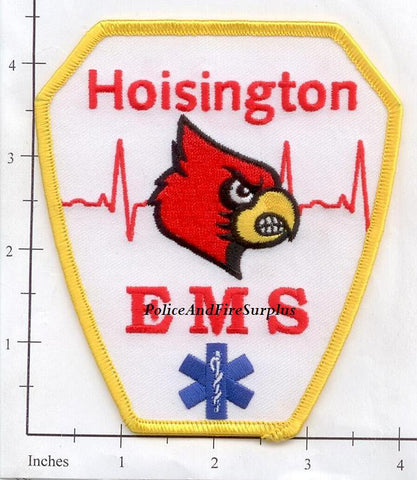 Kansas - Hoisington EMS Fire Dept Patch v1