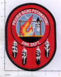 Kansas - Prairie Band Potawatomi Fire Dept Patch v1