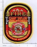 Kentucky - Camp Taylor Fire District Louisville Metro Fire Dept Patch