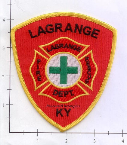 Kentucky - LaGrange Fire Rescue Fire Dept Patch