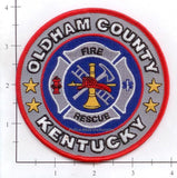 Kentucky - Oldham County Fire Rescue Fire Dept Patch