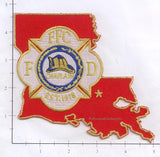 Louisiana - Fire Chaplains Fire Dept Patch v1