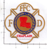 Louisiana - Fire Chaplains Fire Dept Patch v2