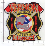 Louisiana - Vernon Parish Fire District Fire Dept Patch