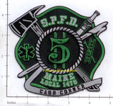 Maine - South Portland Engine 5 Fire Dept Patch