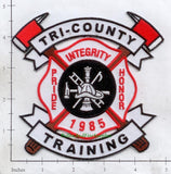 Maine - Tri County Training Fire Dept Patch