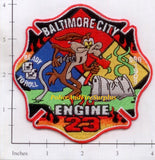 Maryland - Baltimore City Engine 23 Fire Dept Patch v1