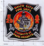 Maryland - Baltimore City Engine 29 Fire Dept Patch v1