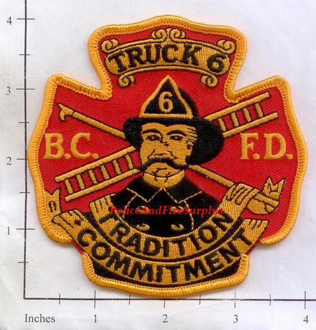 Maryland - Baltimore City Truck  6 Fire Dept Patch v2