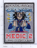 Maryland - Frederick County Medic 2 Fire Dept Patch