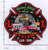 Massachusetts - Salem Ladder 1 Fire Dept Patch
