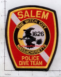 Massachusetts - Salem Police Dept Dive Team Patch