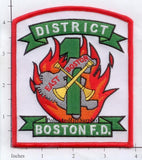 Massachusetts - Boston District 1 Fire Dept Patch