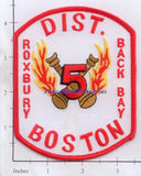Massachusetts - Boston District 5 Fire Dept Patch