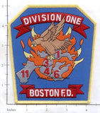 Massachusetts - Boston Division 1 Fire Dept Patch