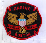 Massachusetts - Boston Engine   3 Fire Dept Patch v1