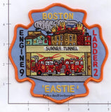 Massachusetts - Boston Engine   9 Ladder 2 Fire Dept Patch v1