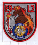 Massachusetts - Boston Engine   9 Ladder 2 Fire Dept Patch v2