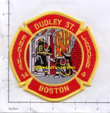 Massachusetts - Boston Engine  14 Ladder 4 Fire Dept Patch v2