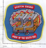 Massachusetts - Boston Engine  22 Fire Dept Patch