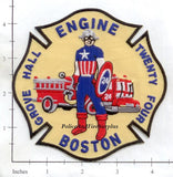 Massachusetts - Boston Engine  24 Fire Dept Patch v1