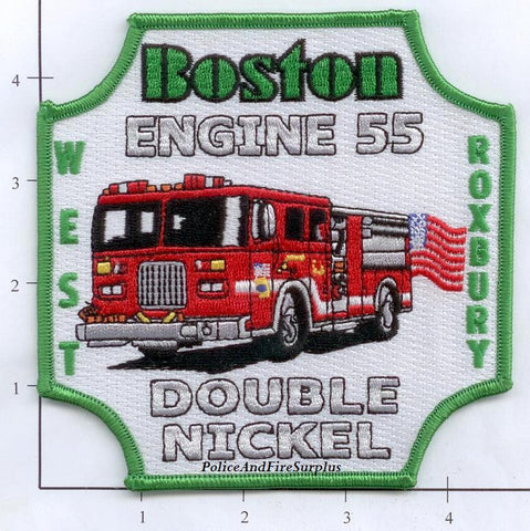 Massachusetts - Boston Engine 55 Fire Dept Patch