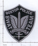 Massachusetts - Boston SWAT Team Police Dept Patch