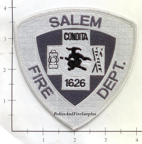 Massachusetts - Salem Fire Dept Patch v6