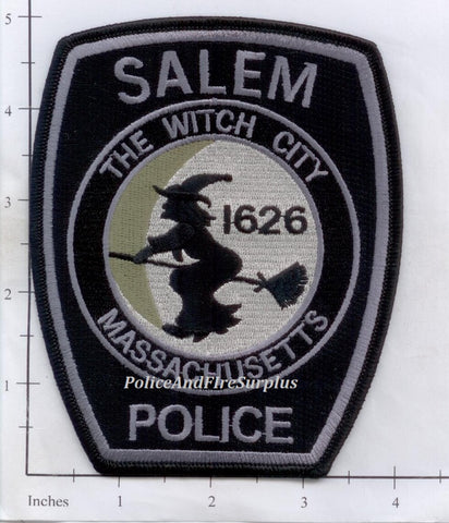 Massachusetts - Salem Police Dept Patch Subdued