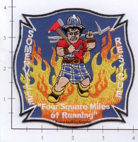 Massachusetts - Somerville Rescue Fire Dept Patch v1