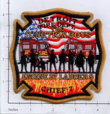 Michigan - Detroit Engine 27 Ladder 8 Chief 7 Fire Dept Patch v2