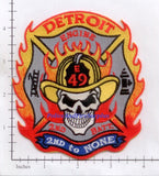 Michigan - Detroit Engine 49 Fire Dept Patch