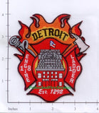 Michigan - Detroit Engine 18 Ladder 10 Fire Dept Patch