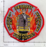 Michigan - Detroit Engine 21 Ladder 28 Fire Dept Patch