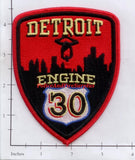Michigan - Detroit Engine 30 Fire Dept Patch