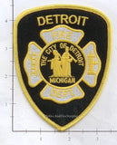 Michigan - Detroit Fire Dept Patch v2