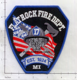 Michigan - Flat Rock Fire Dept Patch