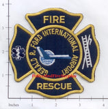 Michigan - Gerald R Ford International Airport Fire Rescue Patch