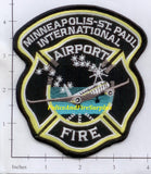 Minnesota - Minneapolis St Paul International Airport Fire Dept Patch