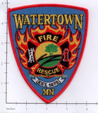 Minnesota - Watertown Fire Rescue Patch