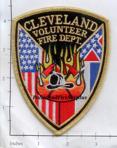 Mississippi - Cleveland Volunteer Fire Dept Patch