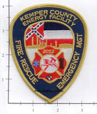Mississippi - Kemper County Energy Facility Fire Rescue Fire Dept Patch