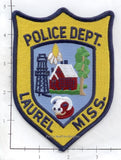Mississippi - Laurel Police Dept Patch