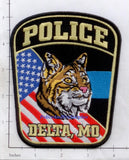 Missouri - Delta Police Dept Patch