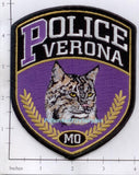 Missouri -  Verona Police Dept Patch