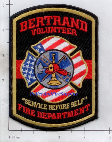 Missouri - Bertrand Volunteer Fire Dept Patch