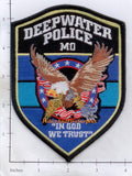 Missouri -  Deepwater Police Dept Patch