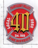 Missouri - Flourissant Valley Fire District Dept Patch