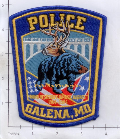 Missouri -  Galena Police Dept Patch